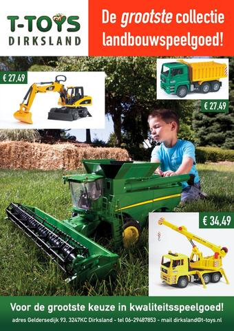T-Toys reclame folder (geldig t/m 10-06)