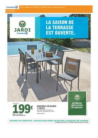 Table De Jardin Leclerc Brico