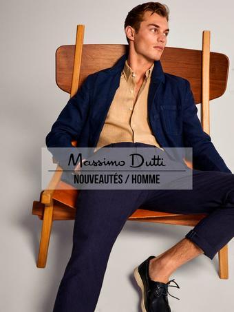 Massimo Dutti reclame folder (geldig t/m 25-06)