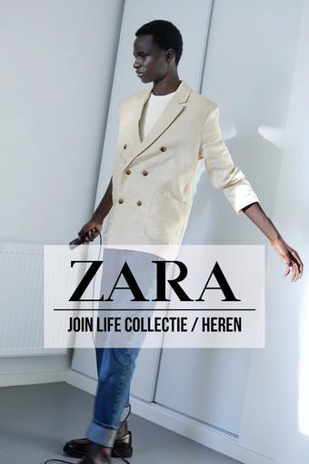 ZARA reclame folder (geldig t/m 24-06)