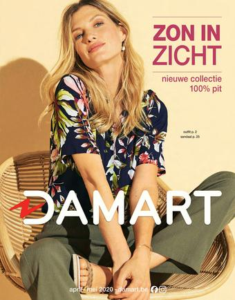 Damart reclame folder (geldig t/m 15-06)