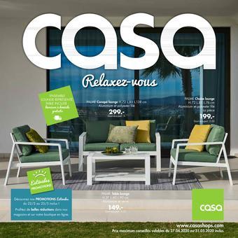 Casa catalogue publicitaire (valable jusqu'au 31-05)