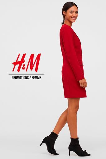 H&M reclame folder (geldig t/m 27-06)