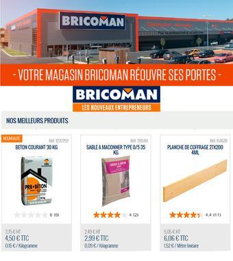 Bricoman catalogue publicitaire (valable jusqu'au 01-06)