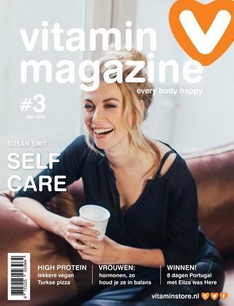 Vitaminstore reclame folder (geldig t/m 31-05)
