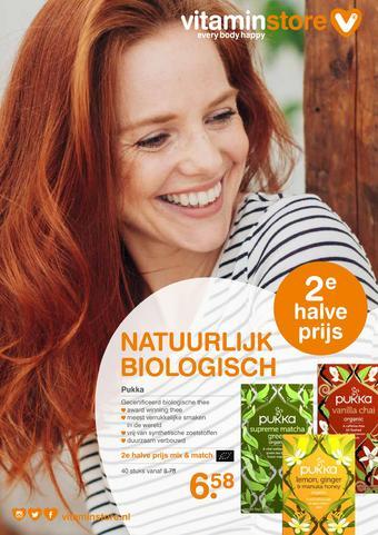 Vitaminstore reclame folder (geldig t/m 22-06)