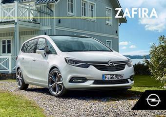 Opel reclame folder (geldig t/m 31-12)
