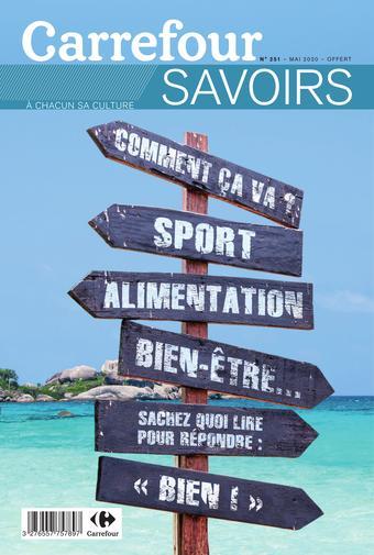 Carrefour Voyages catalogue publicitaire (valable jusqu'au 31-05)