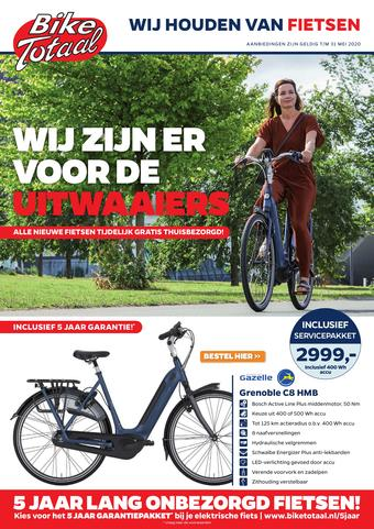 Bike Totaal reclame folder (geldig t/m 07-06)