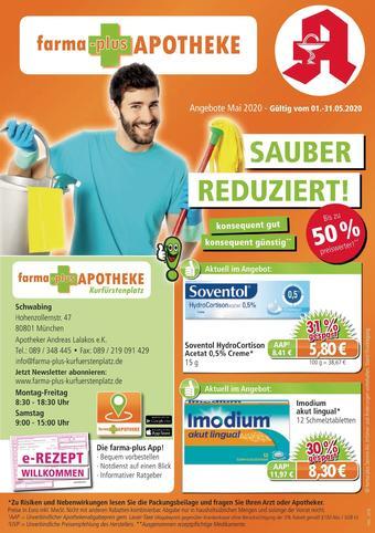 farma-plus Apotheken Prospekt (bis einschl. 31-05)