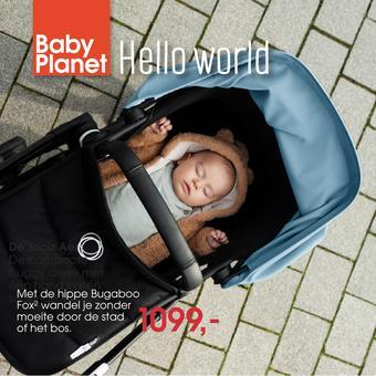 Babyplanet reclame folder (geldig t/m 31-07)