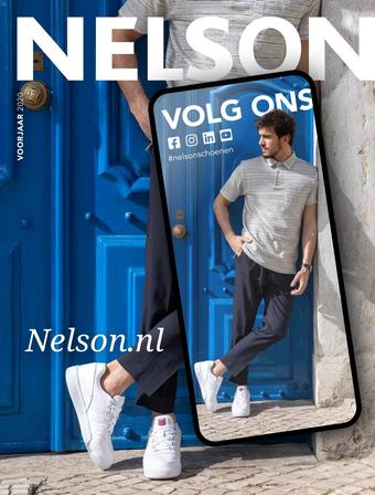 Nelson Schoenen reclame folder (geldig t/m 31-08)
