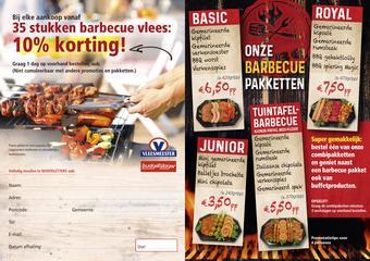 Vleesmeester reclame folder (geldig t/m 31-08)