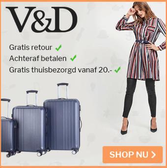 V&D reclame folder (geldig t/m 31-08)