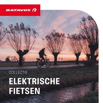 Batavus reclame folder (geldig t/m 30-09)