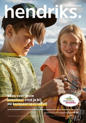 Kampeerwereld Hendriks reclame folder (geldig t/m 30-09)