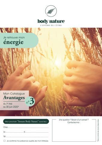 Body Nature catalogue publicitaire (valable jusqu'au 30-06)