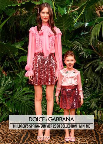 Dolce & Gabbana reclame folder (geldig t/m 02-07)