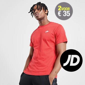 JD Sports reclame folder (geldig t/m 31-05)