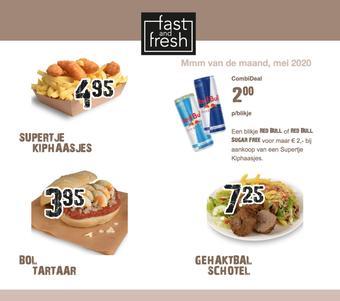 Fast and Fresh reclame folder (geldig t/m 31-05)