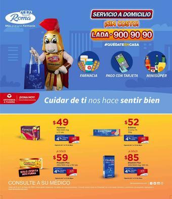 Farmacias Roma catálogo (válido hasta 31-05)