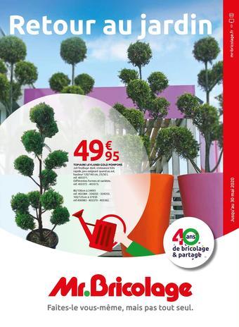 Mr Bricolage catalogue publicitaire (valable jusqu'au 30-05)