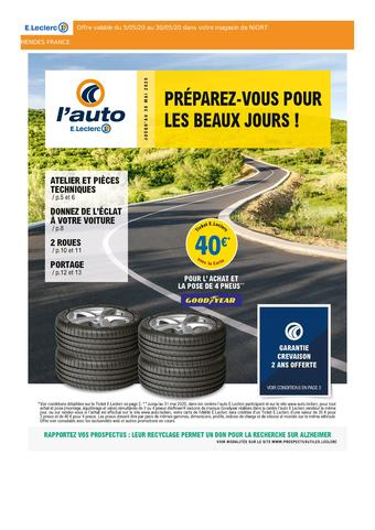 E.Leclerc L'Auto catalogue publicitaire (valable jusqu'au 30-05)
