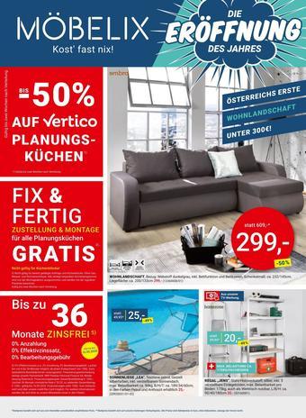 Möbelix Werbeflugblatt (bis einschl. 16-05)