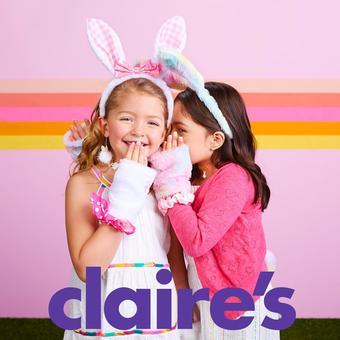 Claire's catalogue publicitaire (valable jusqu'au 06-07)