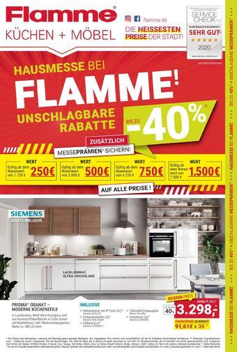 Flamme Möbel Prospekt (bis einschl. 31-05)