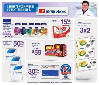 Farmacias Benavides catálogo (válido hasta 31-05)