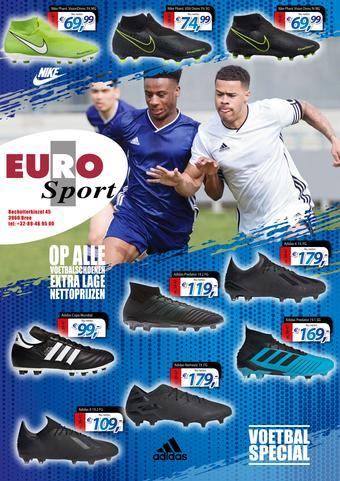 Eurosport reclame folder (geldig t/m 30-06)