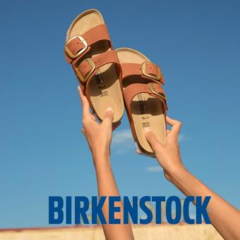 Birkenstock reclame folder (geldig t/m 31-07)