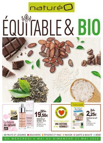 naturéO catalogue publicitaire (valable jusqu'au 31-05)