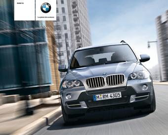 BMW catalogue publicitaire (valable jusqu'au 31-12)