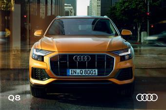 Audi catalogue publicitaire (valable jusqu'au 31-12)