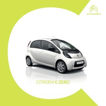Citroën catalogue publicitaire (valable jusqu'au 31-12)