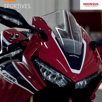 Honda catalogue publicitaire (valable jusqu'au 31-12)