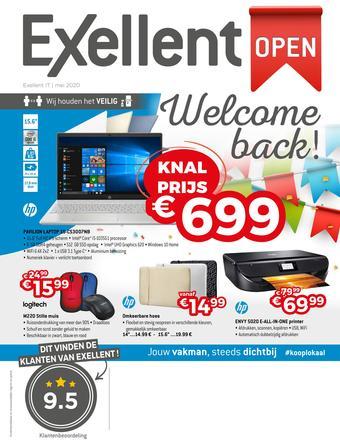 Exellent reclame folder (geldig t/m 04-06)