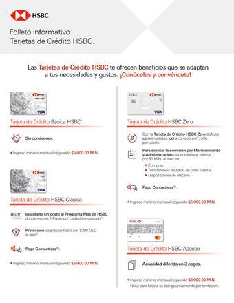 HSBC catálogo (válido hasta 10-08)