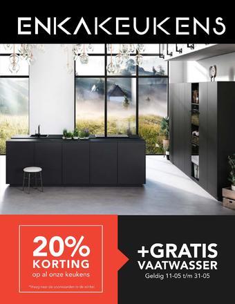 Enka Keukens reclame folder (geldig t/m 31-05)
