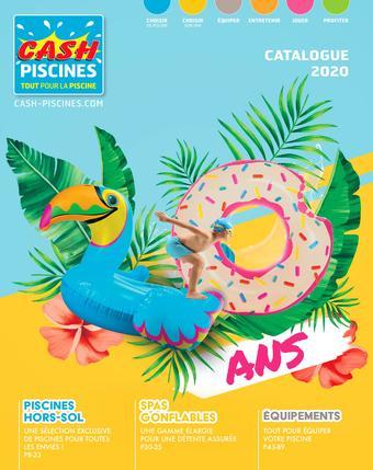 Cash Piscines catalogue publicitaire (valable jusqu'au 31-08)