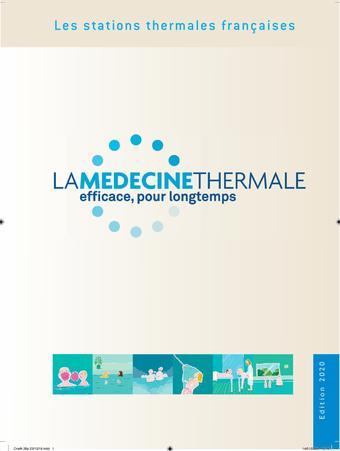La Médecine Thermale catalogue publicitaire (valable jusqu'au 31-12)