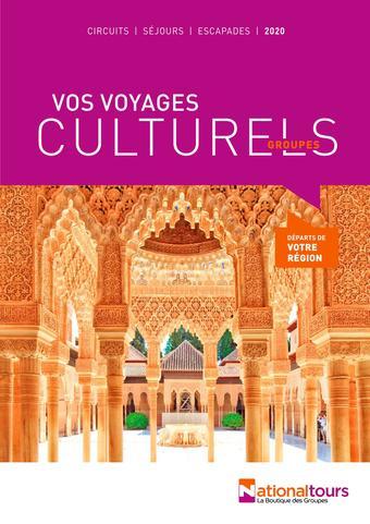 National Tours catalogue publicitaire (valable jusqu'au 31-07)