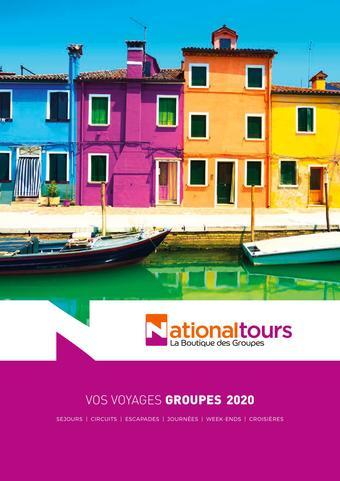 National Tours catalogue publicitaire (valable jusqu'au 31-08)