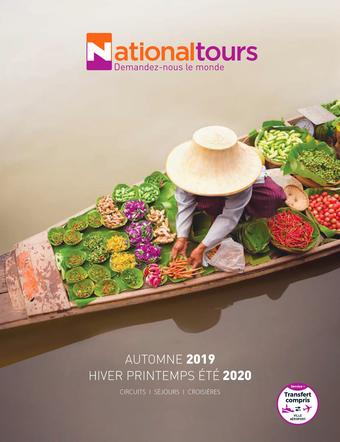 National Tours catalogue publicitaire (valable jusqu'au 23-09)