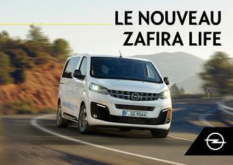 Opel catalogue publicitaire (valable jusqu'au 31-12)