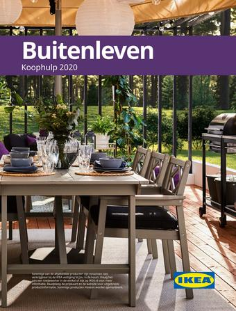 IKEA reclame folder (geldig t/m 31-08)