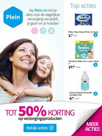 Plein.nl reclame folder (geldig t/m 31-05)