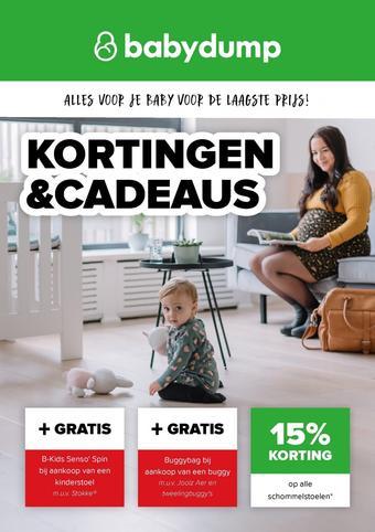 Baby-Dump reclame folder (geldig t/m 20-06)